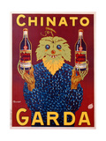Advertisement for Chinato Garda  c1925