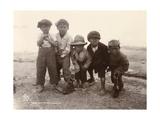 Maori Boys  Whakarewarewa  c1910