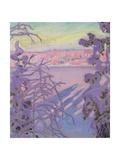 A Winter Landscape  1917