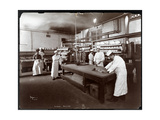 Cooks Working in the Kitchen at Maillard's Chocolate Manufacturers  116-118 West 25th Street  New…