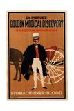 Advertisement for 'Dr Pierce's Tonic'  1910s