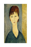 Portrait of a Young Woman  c1918