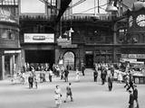 Glasgow Central Station  Looking East Towards the Union Street Entrance  1955