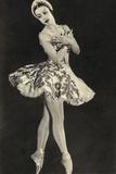 Tamara Toumanova  from 'Footnotes to the Ballet'  Published 1938