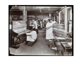Men Working in the Hardman  Peck and Co Piano Factory  New York  1907