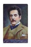 Postcard Portrait of Giacomo Puccini  c1910-15