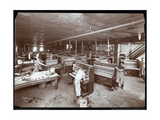 Men Working in the Harrington Piano Co Factory  1907