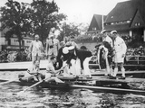 Great Britain  Gold Medallists in the Double Sculls at the 1936 Berlin Olympic Games  1936
