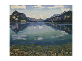 Thunersee with Reflection  1904