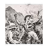 British Lieutenant WT Forshaw Vc  from 'The War Illustrated Album Deluxe'  Published in London …