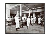 The Kitchen at the Hotel Manhattan  1902