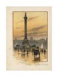 The Nelson Column  the National Gallery  Trafalgar Square