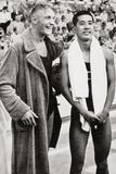 Erwin Sietas and Tetsuo Hamuro at the Berlin Olympics  1936  Erwin Sietas (