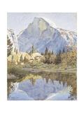 Half Dome and Mirror Lake  1921