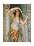 Sofie - One of Three Females of Baghdad  1900