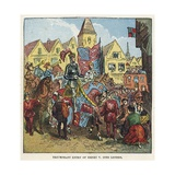 Triumphant Entry of King Henry V into London after the Battle of Agincourt