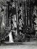 Act I  Scene 1 of 'Pelleas et Melisande' by Debussy  from a Photograph of the First Production in…