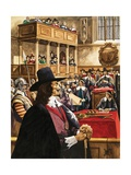The Trial of King Charles the First in Westminster Hall