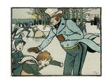 Old English Sports and Games: Skating  1901