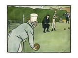 Old English Sports and Games: Bowls  1901