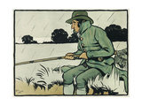 Old English Sports and Games: Angling  1901