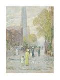 Cathedral Spires  Spring Morning  1909