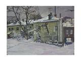 Moscow Houses - Perunovski Pereulok  1968