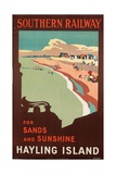 Hayling Island  Poster Advertising Southern Railway  1923