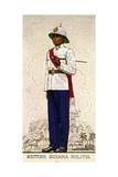 Company Sergeant-Major of the British Guiana Military  1938