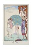Earth  from 'Falbalas and Fanfreluches  Almanach des Modes Présentes  Passées et Futures'  1925