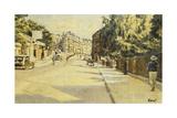 London Street  Bath  Looking Towards Walcot  c1939