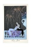 Fire  from 'Falbalas and Fanfreluches  Almanach des Modes Présentes  Passées et Futures'  1926