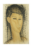 Head of a Young Women; Tete de Jeune Femme  1914