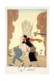 Wrath  from 'Falbalas and Fanfreluches  Almanach des Modes Présentes  Passées et Futures'  1925
