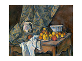 Still Life with Apples and Peaches  c1905