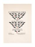 Title Page - a Christmas Carol  1915