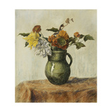 Vase of Flowers; Vase de Fleurs  c1900