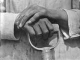 Hands of a Construction Worker  Mexico  1926