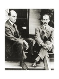 The Wright Brothers  Orville and Wilbur Wright  1909