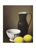 Bowl and Lemons  c1930