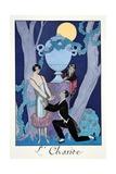 Avarice  from 'Falbalas and Fanfreluches  Almanach des Modes Présentes  Passées et Futures'  1925