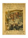"""""""We Need Books  Donate Money!""""  1917"""