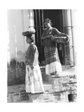 Women in Tehuantepec  Mexico  1929