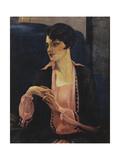 Portrait of a Woman  Half Length  1905