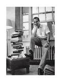 The Aga Khan While a Student at Harvard University  1958