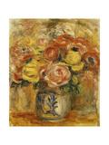 Flowers in a Blue and White Vase; Fleurs Dans Un Vase Bleu et Blanc  1915