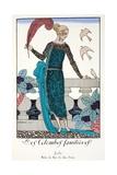 Les Colombes Familieres - Jade - Evening Gown de Chez Jenny 1920