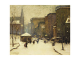 Park Street Church in Snow  1913