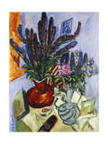 Still Life with a Vase of Flowers; Stilleben Mit Blumenvasen  1912