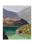Lake Geronde  Sierre  1919